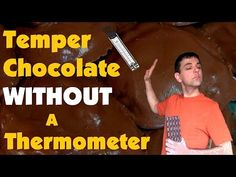 A quick and easy way to temper chocolate without a thermometer for dipping and drizzling candies, cookies, strawberries, pretzels and potato chips! Tempering Chocolate, How To Temper Chocolate, Everyday Food, Potato Chips, Just Desserts, My Recipes, Cooking, Book, Youtube
