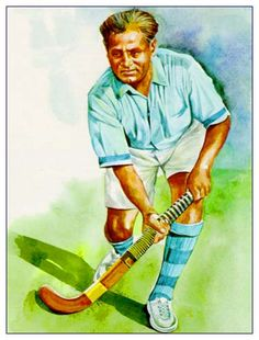 Azadi ke pankh ( Colors your life ): Star of the day Dhyan Chand