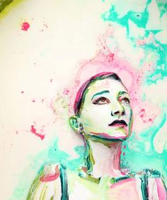 Les compositions laiteuses d'Alexa Meade