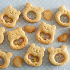 Cute Cookies, No Bake Cookies, Sugar Cookies, Cute Desserts, Cookie Desserts, Icebox Cookies, Cookie Box, Food Decoration, Biscuit Cookies