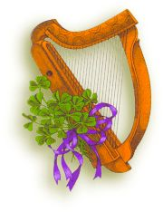 Celtic Harp | Feast Day: August 21