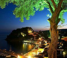 Greece At Night