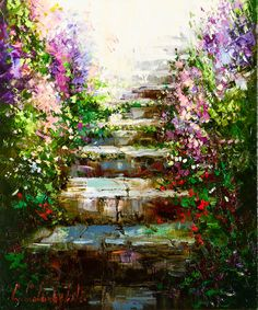 Enchanted Steps by Gleb Goloubetski