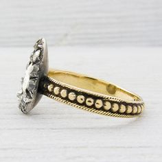 Early Victorian Engagement Rings Antique 7