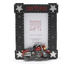 """Live To Ride"" Motorcycle Photo Picture Frame For Motorcycle Enthusiast http://bikeraa.com/live-to-ride-motorcycle-photo-picture-frame-for-motorcycle-enthusiast/"