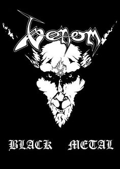 Amazing poster, printed on high glossy paper. Venom Black Metal, Musica Metal, Metal Albums, Music Albums, Metalhead, Art And Architecture, Good Music, Funny Quotes, Monkey