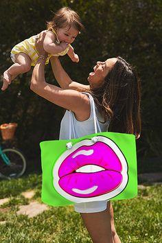 Kiss Me Weekender Tote Bag for Sale by Bee-Bee Deigner  #totebags #popart #beebeedeigner #buyart #buyartonline
