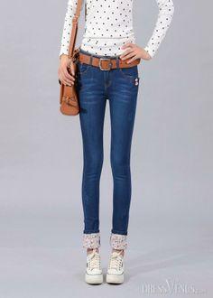 New Fashion Slim Korean Style Jeans Pants, Pants