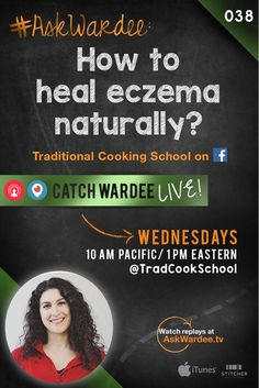 Linda K. asks, 'How can we heal my grandson's terrible eczema?' Watch, listen, or read to find out our family's story and how to heal eczema naturally. | AskWardee.tv