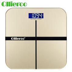 Ollieroo  Digital Bathroom Body Scale Weight Heath Fitness LCD 400LB/180kG USA