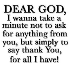 Take a moment to just be grateful....