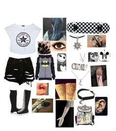 """I'm A Mess - Ed Sheeran"" by leia-albin ❤ liked on Polyvore featuring The Ragged Priest, Converse, Marc by Marc Jacobs, H&M, KC Designs, Nails Inc., Gypsy Warrior, Disney, PhunkeeTree and Equipment"