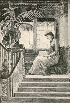 geisterseher:  Susan Coolidge, A Little Country Girl (1885). 'Candace settled herself for a long, comfortable reading before breakfast'.