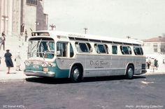 Seventy-Five TDH 5301's numbered 5700 to 5774 and twenty-five TDH 4517's numbered 4920 to 4944 and all of which being Air Conditioned were the first GM New Look buses off the line and were delivered to DC Transit in September of 1959.