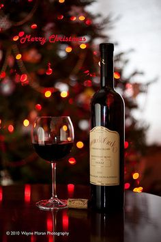 Merry Christmas from all of us to all of you.  With very nice #Wine