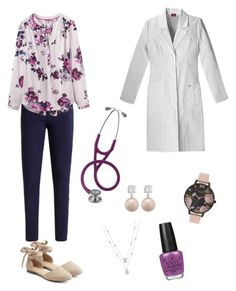 """""""Untitled #3"""" by morganwhitlow on Polyvore featuring Joules, Apt. 9, Jankuo, Olivia Burton and OPI"""