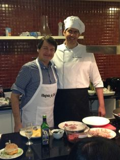 Chef Rodrigo Domingues,  aula de hamburguer gourmet