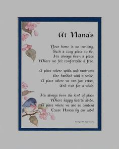 This beautiful poem is the work of nationally recognized poet, Genie Graveline. It is sure to touch your Nana's heart in a profound and meaningfu . Nana Poems, Grandma Quotes, Quotes About Grandchildren, Grandkids Quotes, Nana Grandma, Poems Beautiful, Quotes About Motherhood, Grandparents Day, Mom Birthday