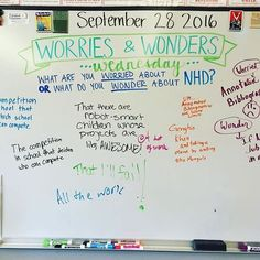 This was great for helping my graders know they're not alone in their worries & wonders about this year! Future Classroom, School Classroom, Classroom Ideas, Morning Activities, Daily Writing Prompts, Bell Work, Responsive Classroom, Thinking Day, Classroom Community