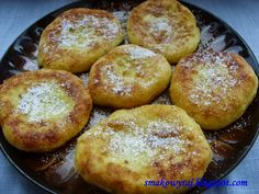Smakowy Raj - blog kulinarny: Serowe placuszki siostry Anieli
