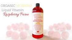 Organic Liquid Morning Multivitamin - MaryRuth Organics