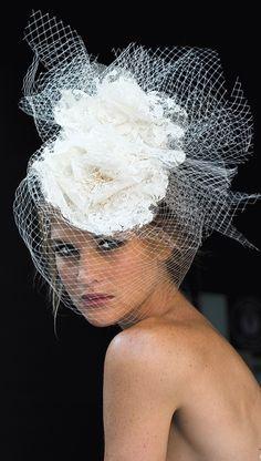 Свадебные аксессуары : Свадебная вуалетка 02