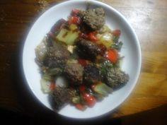 Sesamrunderballetjes met noedels en paksoi | | Goed en gezond eten