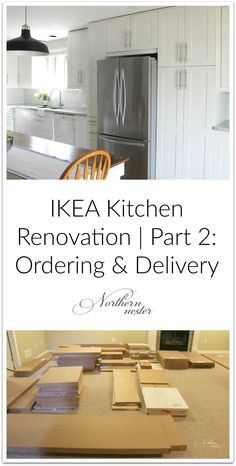 IKEA Kitchen Reno: Before & After! – Northern Nester – Home Renovation Cheap Kitchen Remodel, Galley Kitchen Remodel, Condo Kitchen, Ranch Kitchen, Remodel Bathroom, Apartment Kitchen, Apartment Interior, Apartment Ideas, Layout Design