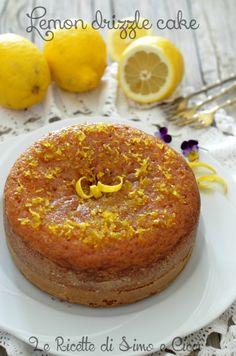Lemon drizzle cake, una torta al limone deliziosa|Le Ricette di Simo e Cicci
