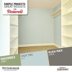 Closet Makeover Paint Color Tips : Coordinate Your Closet Paint Colors With  Your Bedroom And The