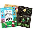 The months of the year book is the perfect mix of fun and education rolled into one! Available To Buy Now From Prezzybox at Personalised Months Of The Year Book In Stock With Fast, UK Delivery. Personalised Childrens Gifts, Personalized Books, Kids Story Books, Crazy Kids, Months In A Year, Coloring Books, Year Book, Item Number, Gadgets