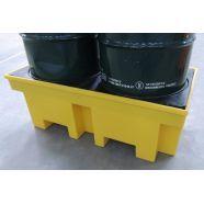O pallet é indicado para fazer a proteção dos produtos armazenados. Com capacidade de 255 litros, esse produto pode suportar até dois tambores. Entre em contato com a empresa para conhecer as vantagens do produto !