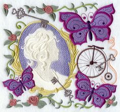 Victorian Embroidery Designs | Needle Passion Embroidery, Victorian Frames – Machine embroidery