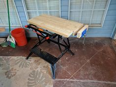 Post with 10 votes and 3291 views. Shared by mmohon. Finished my workbench upgrade Portable Workbench, Mobile Workbench, Workbench Plans, Woodworking Workbench, Small Workbench, Garage Workbench, Woodworking Guide, Custom Woodworking, Woodworking Projects Plans