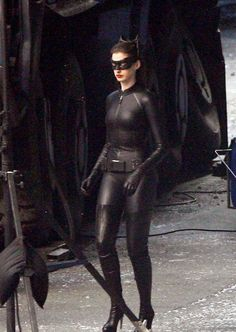 {costumery} full catwoman ... worth investing in thigh-high heels?