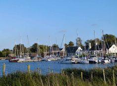 Aquarelle entstehen im Hafen von Gager   Segelboote im Hafen von Gager (c) FRank Koebsch (2)