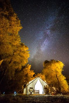 Under Canvas, near Grand Canyon N.P., AZ glamping locations