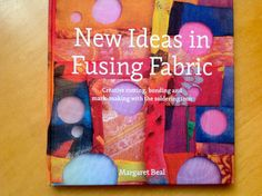 """New ideas in Fusing Fabric"", written by Margaret Beal inspires you with creative cutting, bonding and mark making with the soldering iron, great textile art ideas! To source the book and the soldering iron contact burningissues@margaretbeal.co.uk"