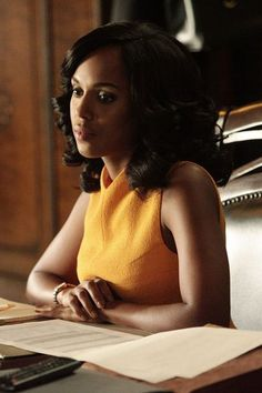 The 1 Bright Color That's Secretly a Neutral, According to the Woman Who Dresses Olivia Pope