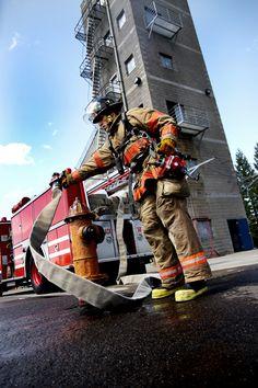 Firefighter training... shared by nyfirestore.com