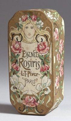 Afbeeldingsresultaat voor Floramye by L T Piver, Paris Vintage Tins, Vintage Labels, Vintage Posters, Nostalgic Images, Perfume Packaging, Romantic Shabby Chic, Steampunk Design, Antique Perfume Bottles, Antique Boxes