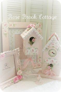 Rose Cottage Decor by Rose Brook Cottage, via Flickr
