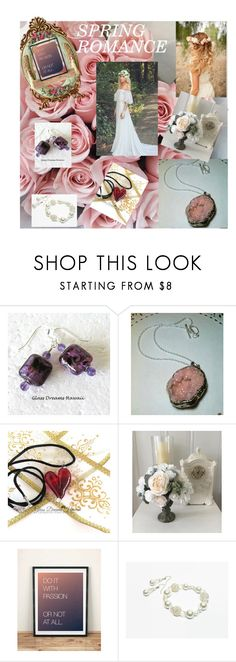 """""""SPRING ROMANCE"""" by christine-bygrave ❤ liked on Polyvore featuring EtsyTeamUnity"""