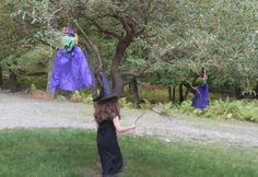 10 Wickedly Fun Witch Party Games