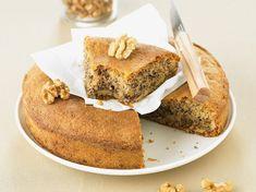 Découvrez la recette Gâteau aux noix sur cuisineactuelle.fr.