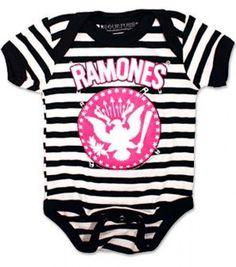 Integrity merchant Classic Ramones Baby Shirt//Bodysuit