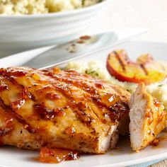 Peachy Grilled Chicken