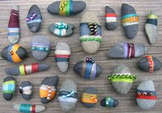 Wrapped Stones by Lisa Sorensen | Flickr