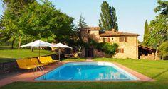 La Quercia is a quintessential Tuscan Chianti farmhouse located in the heart of the Chianti Classico region of Tuscany. Set in a very private location.
