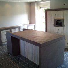 betoncire keukenafwerking particuliere opdrachtgever
